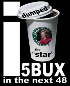 "I dumped the ""star"" - 5BUX in the next 48"