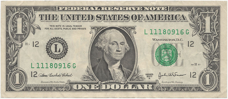george washington dollar bill art. George Washington, Under the