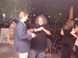 Patrick and Brad critique the hummus