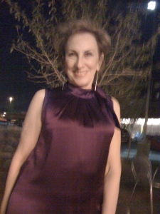 LadyboomerNYC is pretty in purple