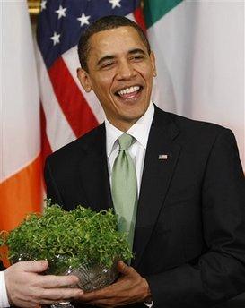 Obama St Patrick's Day