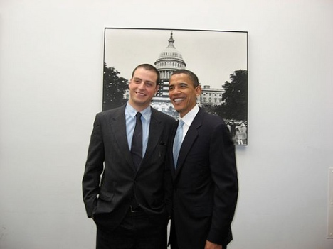 Alexi Giannoulias and Barack Obama