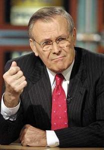 Donald Rumsfeld, war criminal