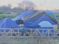 Tent city, Sacramento, CA