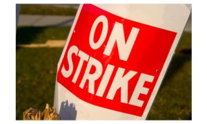 on-strike-sign
