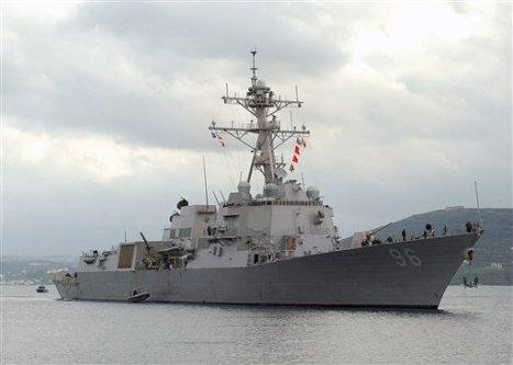 Warship USS Bainbridge