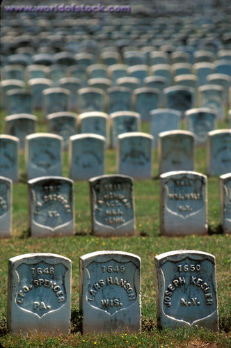 Burial ground for Union soldiers who died at Andersonville Prison