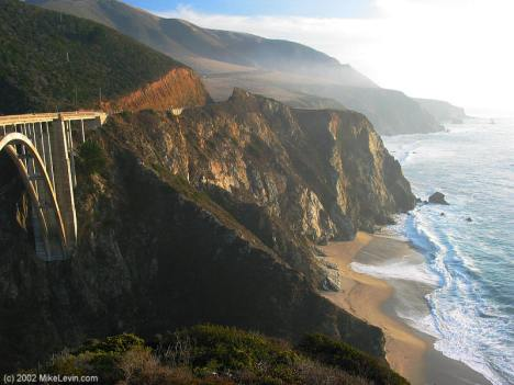 Big Sur Bridge - So beautiful...but scarey as hell for me!