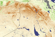 Drought in Iraq on June 13, 20009