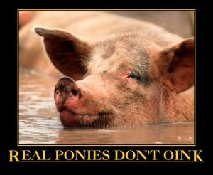 real ponies