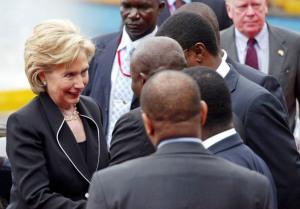 Hillary in Africa