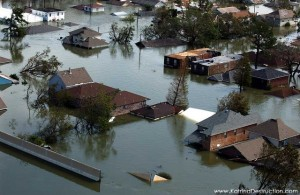 It was the levees stupid!