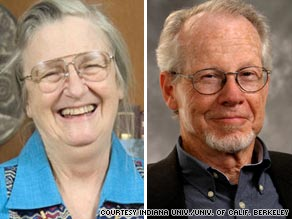 Americans Elinor Ostrom and Oliver Williamson won the Nobel Prize for economics.