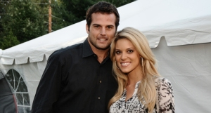 Kyle Boller and Carrie Prejean