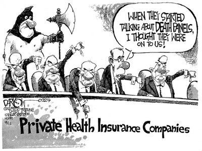 Image result for death panel cartoon
