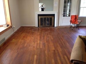 Living room minus manky carpet